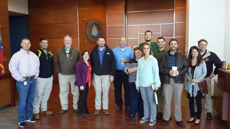 The HCWA Engineering Department Volunteered to deliver meals for Henry County Meals on Wheels during the Holidays.